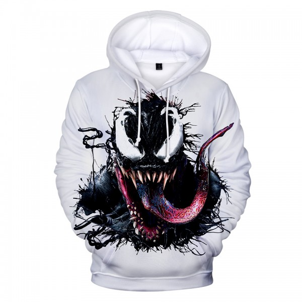 Venom 3D Print Fashion Hoodie For Adults
