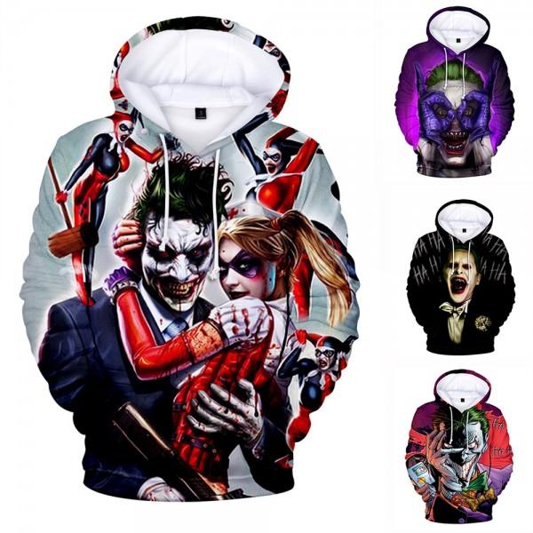 The Hahaha Joker Hoodie 3D Pullover Sweatshirts Hoodies For Men & Women