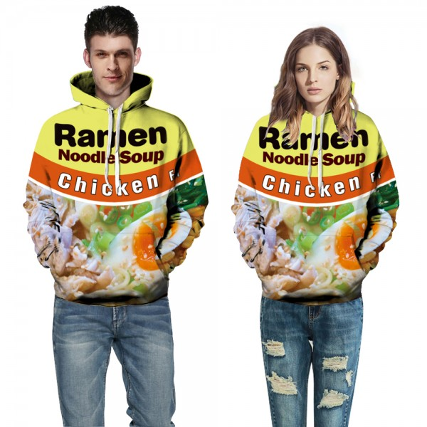 Chicken 3D Hoodies Sweatshirt Pullover