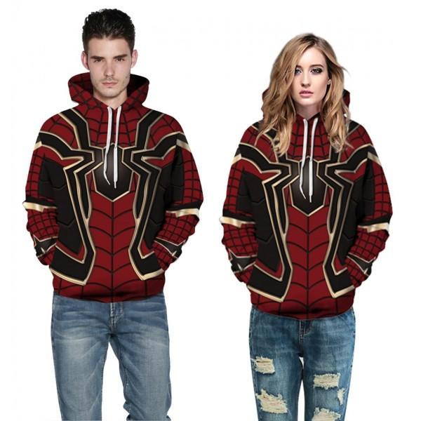 Iron Spider Man Suit 3D Hoodie Sweatshirt