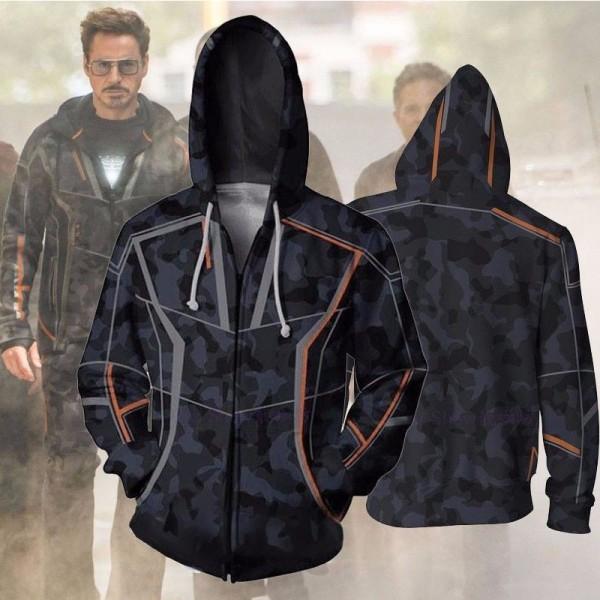 Tony Stark Avengers Infinity War Jacket Hoodies
