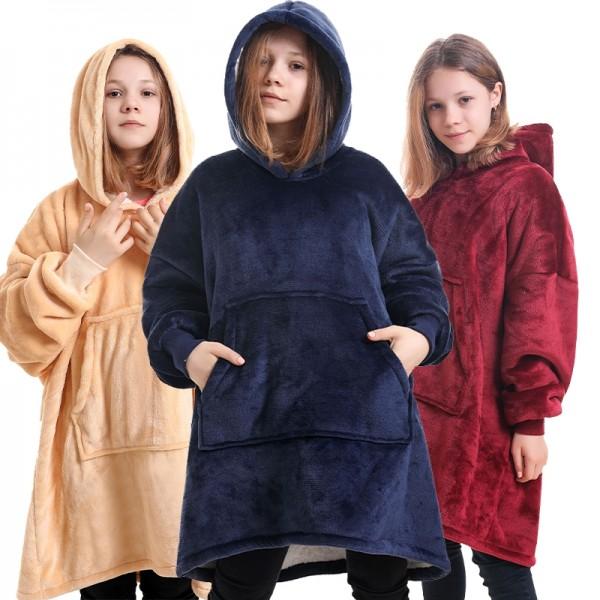 Blanket Sweatshirt Hoodie Oversized Blanket Hoodie for Kids