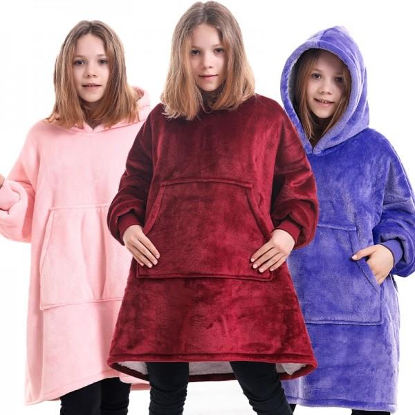Hoodie Blanket Sweatshirt Hoodie Oversized Blanket Hoodie for Kids