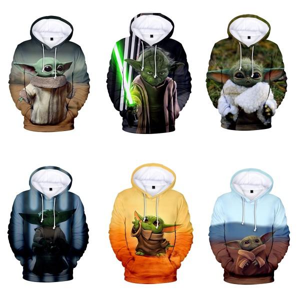 Baby Yoda Hoodie -The Child Star Wars 3D Pullover Hoodie Sweatshirt