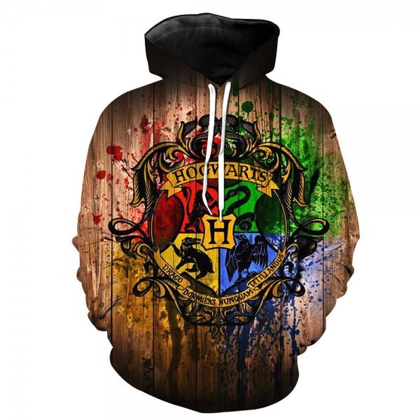 Harry Potter 3D Fashion Hooded Sweatshirt