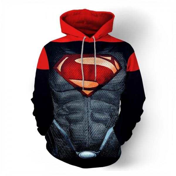 Superman Movie Fashion Casual Men's Hoodie